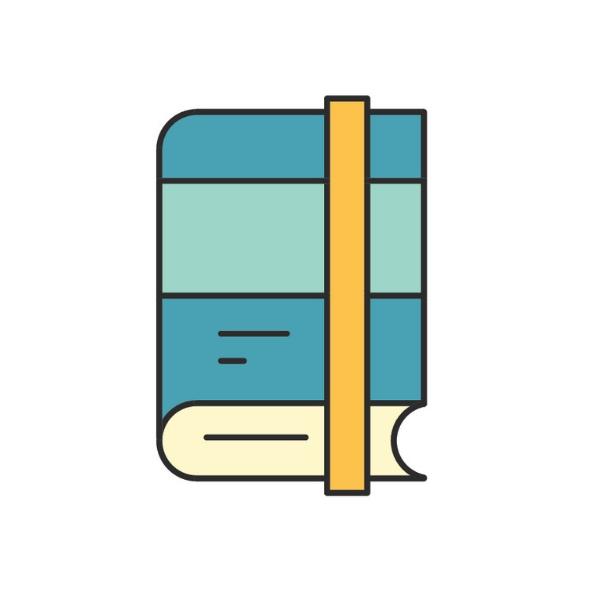 しっかりとした装丁のブランドブック