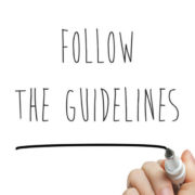 FOLLOW THE GUIDELINE
