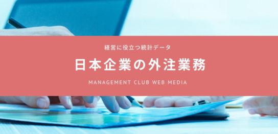 日本の企業の外注金額は月平均 7-10万円?
